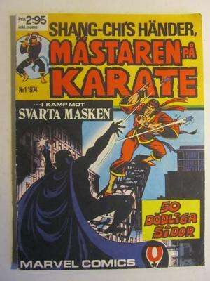 Mästaren på karate 1974 01 Vg