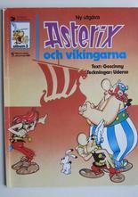 Asterix 03 Asterix och vikingarna 5:e upplagan Vg+