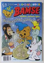 Bamse 2000 12 med kalender