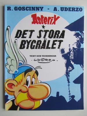 Asterix 25 Det stora bygrälet 4:e upplagan Fn-