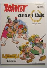 Asterix 06 Asterix drar i fält 4:e upplagan Fn