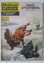 Illustrerade Klassiker 160 Snöstormen 1:a uppl Good
