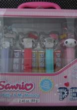 Hello Kitty Pez 4 st i plåtbox
