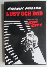 Sin City Lust och död Frank Miller
