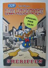 Kalle Ankas pocket 329 Sheriffen