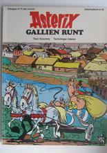 Asterix 12 Gallien runt 1:a upplagan Vg+