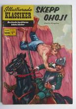 Illustrerade Klassiker 109 Skepp Ohoj! 1:a uppl Vg+