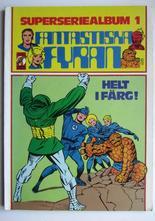Fantastiska Fyran  Superseriealbum 01 1979 Vg+