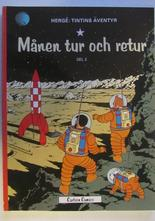 Tintin 08  Månen tur och retur Del 2 13:e uppl.
