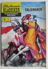 Illustrerade Klassiker 016 Talismanen 1:a uppl. Vg