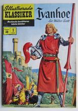 Illustrerade Klassiker 038 Ivanhoe 1:a uppl. Vg+