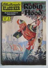 Illustrerade Klassiker 041 Robin Hood 1:a uppl. Vg