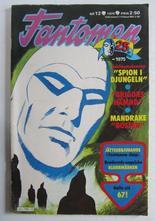 Fantomen 1975 12 Vg+
