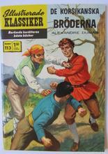 Illustrerade Klassiker 113 De korsikanska bröderna 2:a uppl Fn