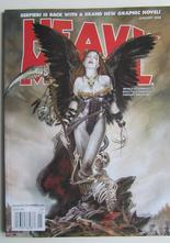 Heavy Metal Magazine 2008 01 January