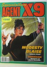 Agent X9 Julalbum 1998 med Modesty Blaise