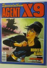 Agent X9 Julalbum 1999 med Modesty Blaise