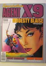 Agent X9 Julalbum 2000 med Modesty Blaise