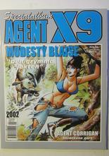 Agent X9 Julalbum 2002 med Modesty Blaise