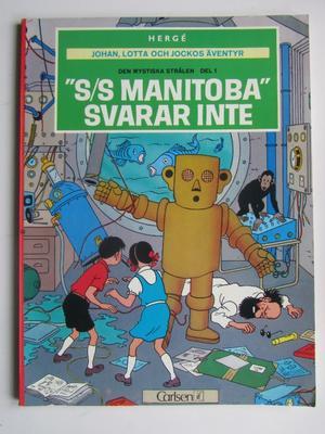 Johan, Lotta och Jocko 01 S/S Manitoba svarar inte 3:e uppl.