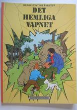 Tintin 10 Det hemliga vapnet 6:e uppl. Vg+