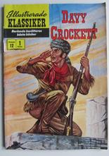 Illustrerade Klassiker 012 Davy Crocket 1:a uppl. Vg-