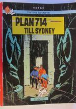 Tintin 16 Plan 714 till Sydney 6:e upplagan