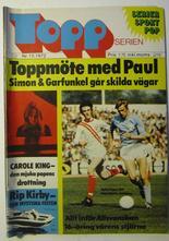 Toppserien 1972 10 Vg+