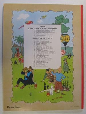 Tintin 18 Det sönderslagna örat 13:e uppl.