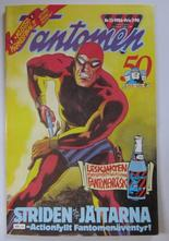 Fantomen 1986 13 med klistermärken