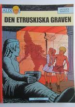 Alix Äventyr 02 Den etruskiska graven 1:a uppl.