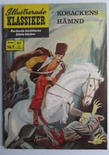 Illustrerade Klassiker 167 Kosackens hämnd 1:a uppl Vg+