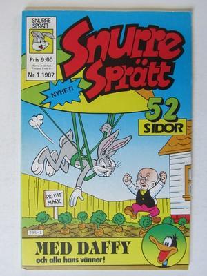 Snurre Sprätt 1987 01