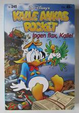 Kalle Ankas pocket 245 Ingen flax, Kalle