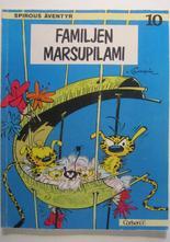 Spirou 10 Familjen Marsupilami