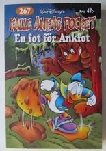 Kalle Ankas pocket 267 En fot för Ankfot