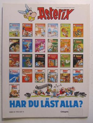 Asterix 21 Caesars gåva 2:a upplagan Fn-