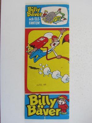Billy Bäver 1964 01 Vg-