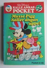 Kalle Ankas pocket 045 Musse Pigg håller ångan uppe