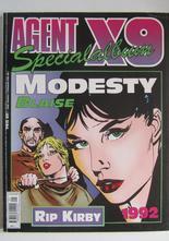Agent X9 Julalbum 1992 med Modesty Blaise