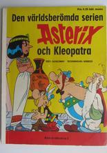 Asterix 02 Asterix och Kleopatra 1:a upplagan Good+