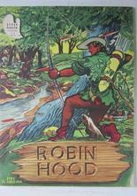 Algas serieböcker Nr 8 Robin Hood 1950