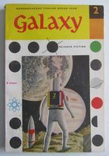 Galaxy 02 1958 Novellsamling science fiction