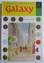 Galaxy 04 1958 Novellsamling science fiction