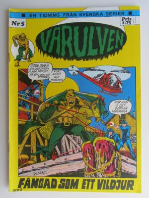 Varulven 1973 05 Vg+