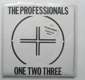 "Professionals One Two Three 7"" Singel Posteromslag"