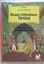 Tintin 02 Kung Ottokars spira 1:a uppl. Vg-