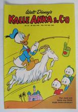 Kalle Anka 1968 22 Vg+