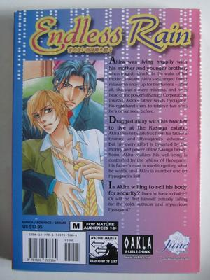 Endless Rain Yaoi Manga