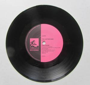 """Leather Nun Pink House / Speed of Life 7"""" Singel"""